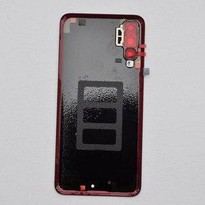 Image 4 - ZUCZUG חדש זכוכית אחורי שיכון עבור Huawei P20 פרו סוללה כיסוי חזרה מקרה P20 פרו Задняя крышка Tylna okładka