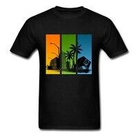 Casual T Shirt 3XL Girocollo Man Speaker Città DJ Breve Abbigliamento A Buon Mercato Gli Uomini Raffreddano Tshirt Disegni All'ingrosso