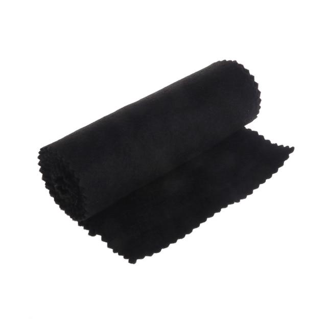 88 Keys Black Soft Piano Key Cover Keyboard Dust Proof Moisture Flannel Cloth 4