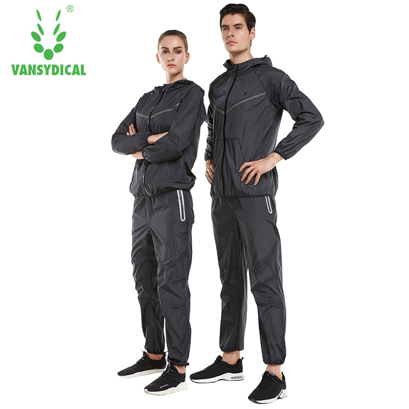 Vansydical Mens Tracksuit Workout Sports Suits Gym Yoga Sweatsuit Running Sets Lose Weight Women Sports Suit Fitness Sportswear недорго, оригинальная цена