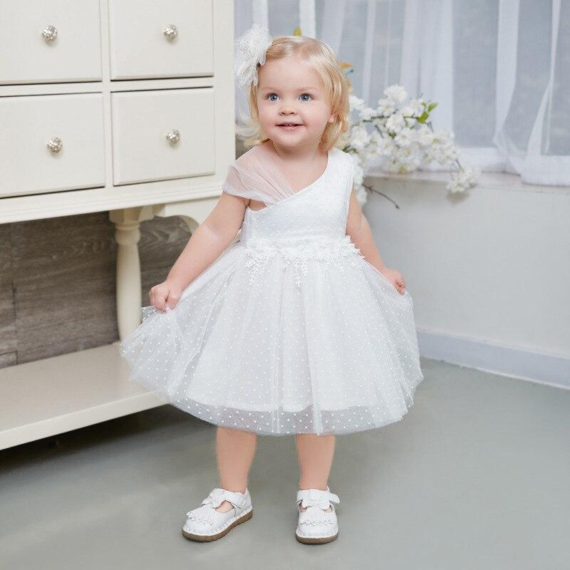 цена на 2018 Brand Children Dress Girls Summer Floral Party Dresses Newborn Toddler Clothing Kids 1 2 3 4 5 Years Baby Girls Dress 3232