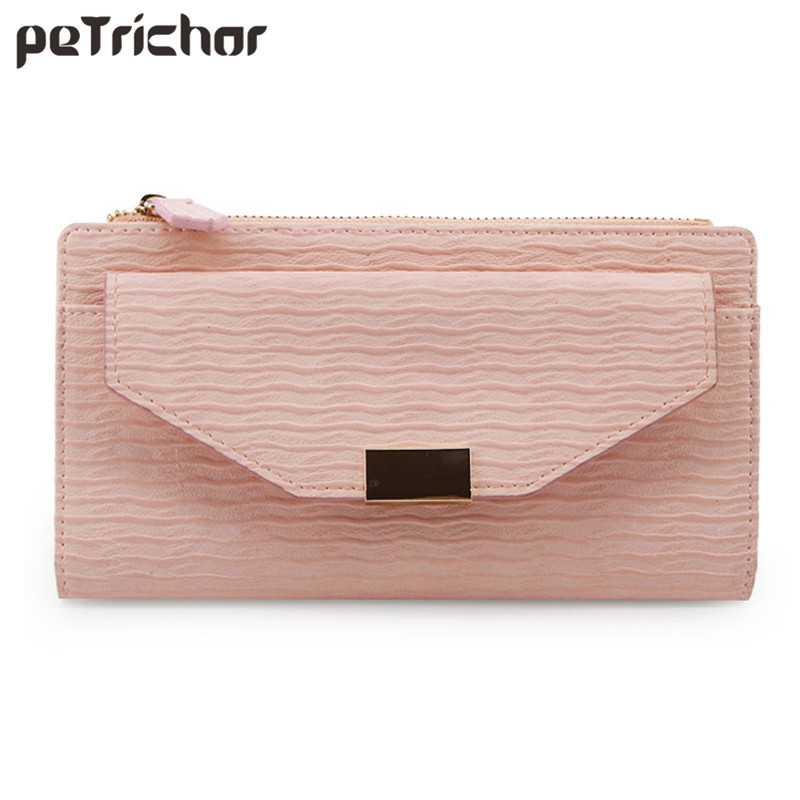 New Brand Designer Women Long Wallet Coin Purse Card Photo Holder Ladies Vintage Cluth Wallets Zipper Coin Pocket Female Purses ybyt brand 2017 new fashion simple solid zipper long women standard wallets hotsale ladies pu leather coin purses card package
