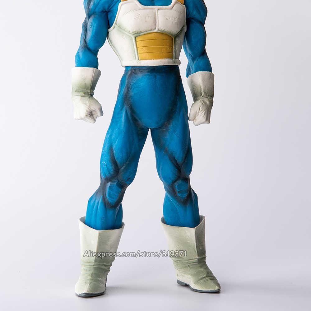 """Figura de Ação DragonBall Super Saiyan Vegeta Anime Estatueta Figuras Dragon Ball Z Brinquedos Modelo Boneca de Presente Tamanho Grande 13"""" 32 cm"""