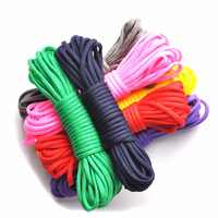 Paracord 550 100ft Rope Paracord Lanyard Accessories Parachute Deg For Outdoor Camping Equipment Survival