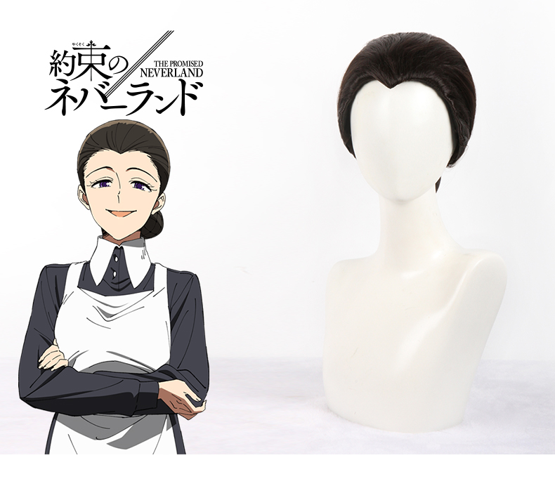 The Promised Neverland Isabella Cosplay Wig Yakusoku no Neverland Hair Headwear Halloween Cosplay Costume Accessories