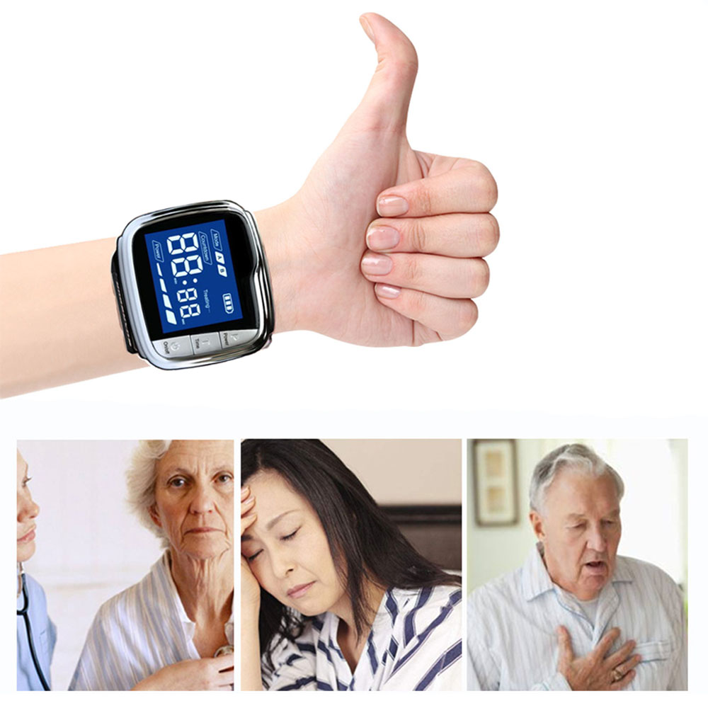 650nm Diode Laser Physiotherapy Wrist Therapy LLLT for Diabetes Hypertension High Blood Treatment Diabetic Sinusitis Laser Watch in Massage Relaxation from Beauty Health