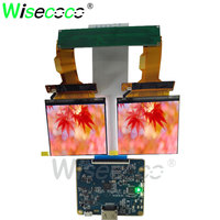 2.9 inch 1440X1440 TFT dual screen LCD display MIPI interface control board for 3D VR Glasses headset