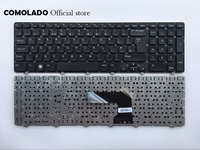 UK keyboard For Dell Inspiron 17 3721 3737 17R 5721 5737 M731R 5735 black without frame keyboard UK Layout