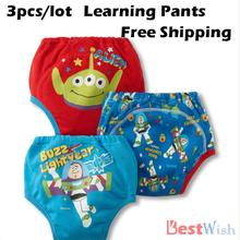 3 Pcs Baby Toddler Boys Girls 3 Layers Waterproof Potty Training Pants Diaper Infant Kids Underwear Washable Nappy New