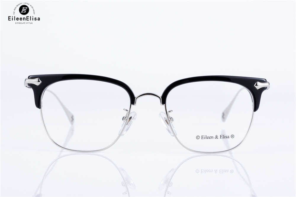 dddb186c1f2 ... EE Hot Optical Myopia Glasses Clear Lens Eyewear Acetate Glasses Frame  Men Glasses Frame Branded Half