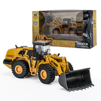 Vehicles Model Diecast Boys Toys 1:50 Alloy Mechanical Loader Engineering Vehicle Excavator Car Truck Gifts Kids Toy