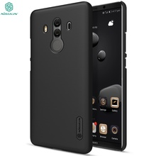 sFor Huawei mate 10 pro case 6.0″ NILLKIN Super Frosted Shield back cover For Huawei mate 10 pro case with free screen protector