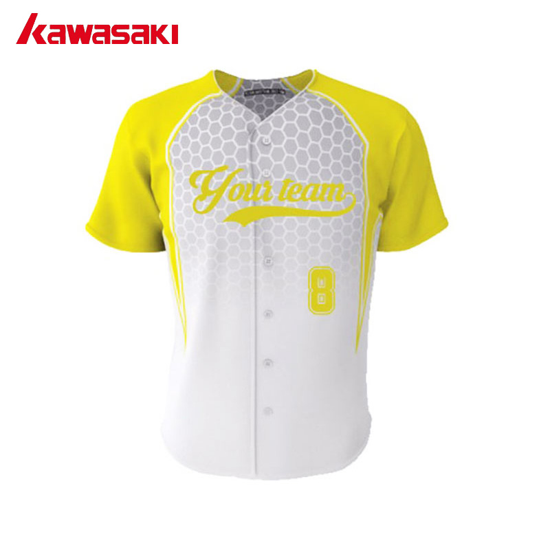 066af44f2 Kawasaki Custom Professional Training Baseball Jersey Top Sublimation  Practice Breathable Sport Fans Softball Jerseys Shirts