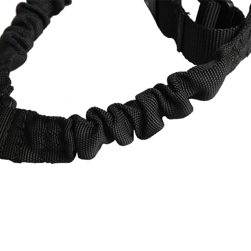1000D-Heavy-Duty-Tactical-One-1-Single-Point-Sling-Adjustable-Bungee-Rifle-Gun-Sling-Strap-for-Airsoft-Hunting-Military RL30-1  (11)