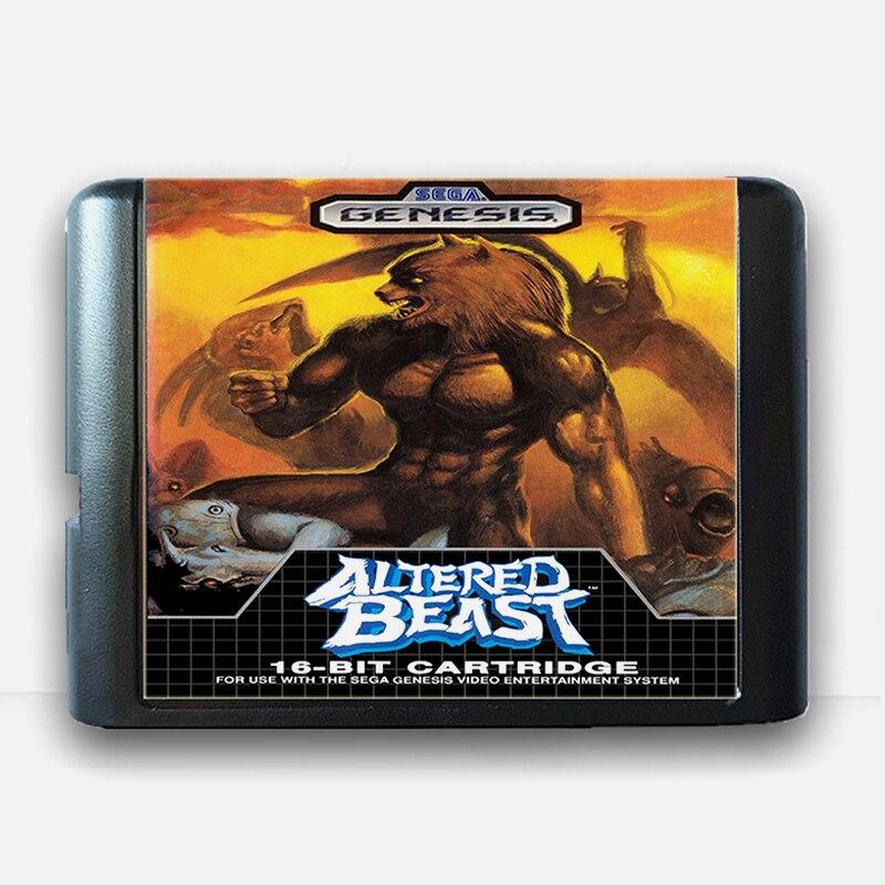 Altered Beast 16 bit Sega MD Game Card for Mega Drive for Genesis