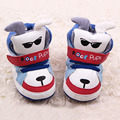 2017 Cartoon Dog Baby Boys First Walkers Shoes Cartoon Animation Baby Walkers Shoes Infant Shoes Indoors Dog Baby Boots Shoes