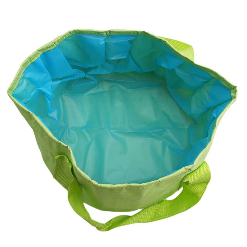 Складной портативный Открытый Путешествия складной кемпинг умывальник ведро чаша раковина мойка сумка ведро для воды домашний инструмент