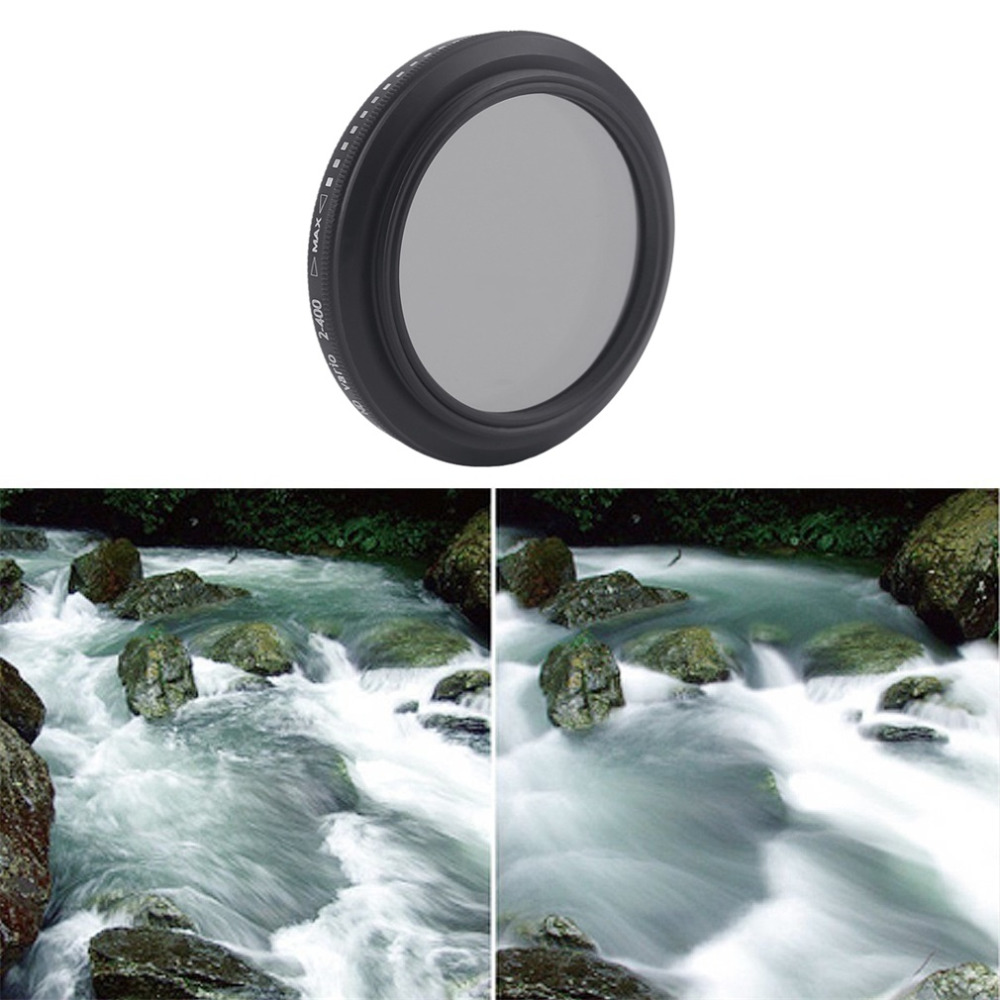 3 In 1 ZOMEI Universal 37MM CPL+Close Up Filter+ND2-400 ND Fader Filter Kit Professional ...