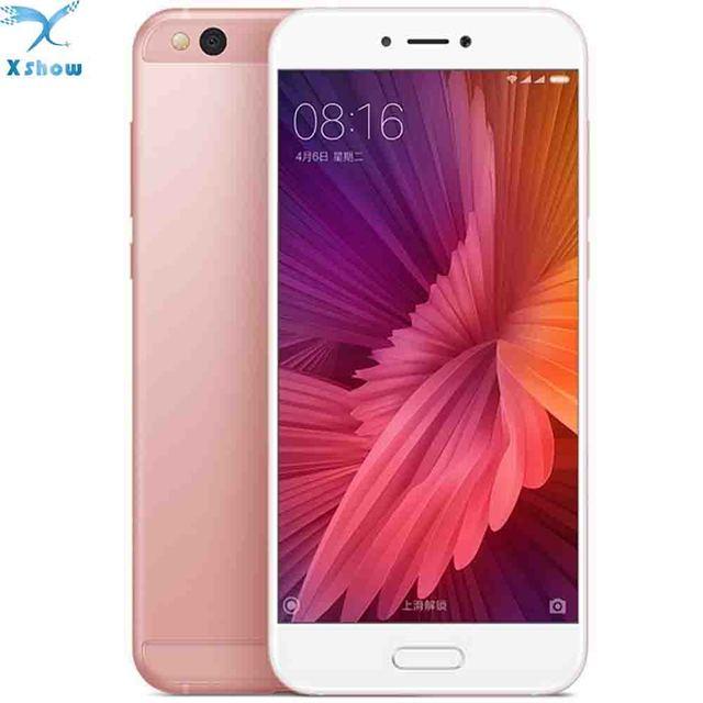 """Xiaomi Mi5c Mi 5C Pinecone S1 Octa Core 3GB RAM 64GB ROM Cell Phone 5.15"""" 1080P FHD 12.0MP Fingerprint ID MIUI 8"""