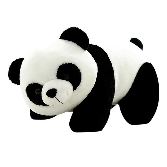 Muqgew Lucu Kartun Panda Dengan Bambu Bayi Plush Mainan Bayi Hot