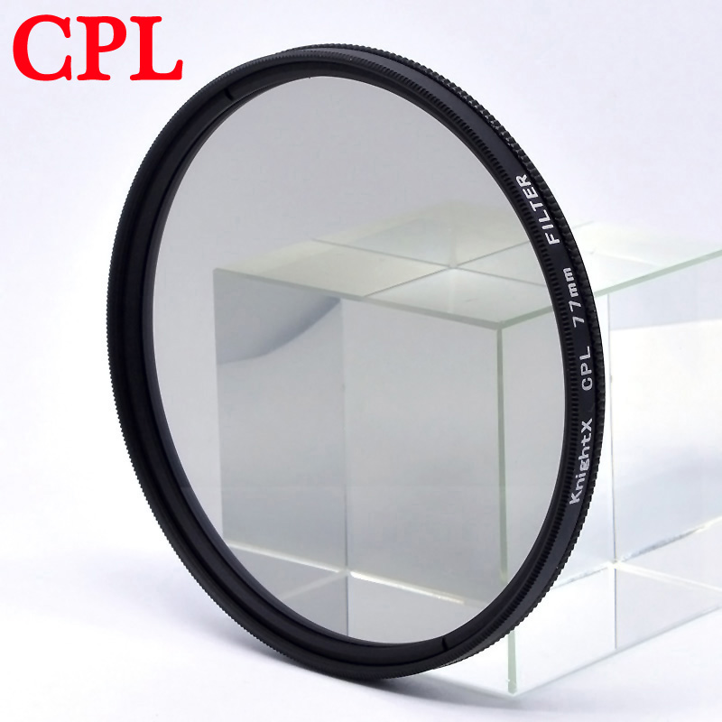 KnightX FLD UV CPL polarizing ND Star line Filter Camera Lens Filter For canon eos sony nikon 52mm 55mm 58mm 67mm colse up Macro in Camera Filters from Consumer Electronics
