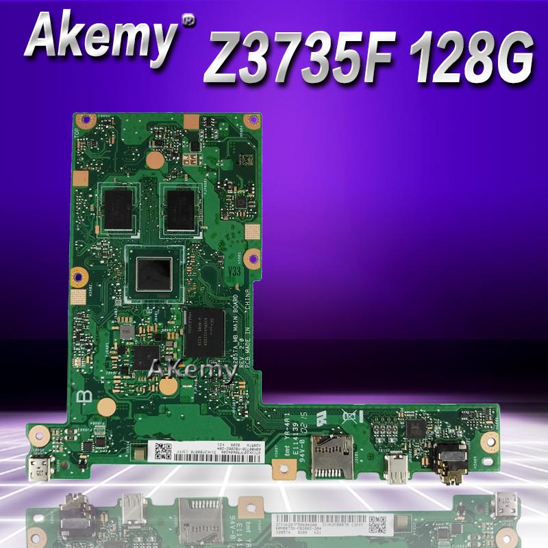 Akemy X205TA laptop motherboard For ASUS X205TA X205T motherboard 2G Z3735F 128G SSD