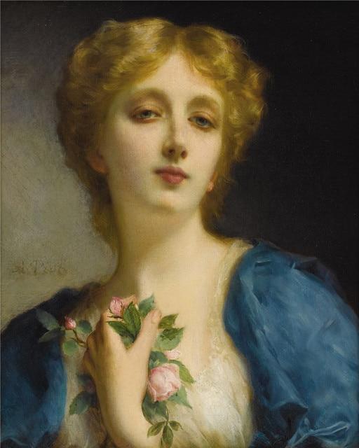 Aliexpress.com : Buy Europe Famous Oil Painting Beautiful Classic ...