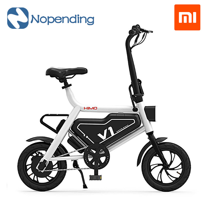 New Original Xiaomi HIMO Bicycle Bike Portable Folding Electric Moped Bicycle Ergonomic Design Multi-mode Riding