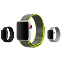 Colorful Sports Woven Nylon 2 Watch Band For Apple Watch Iwatch Series1 2 38mm 42mm Wrist