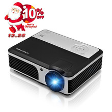 CAIWEI 3800 lumens LCD LED Projector Video Projector HDMI TV USB Direct Read Home Theater For Movie Games Home Bedroom Cinema