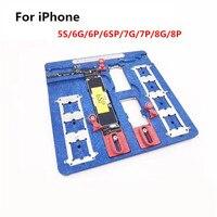 9 in 1 Telefon Reparatur Motherboard Leuchte Für iPhone 5 5S 6 6 S 7 8 Plus CPU Chip Reparatur werkzeuge PCB Halter reparatur leuchte