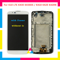 5pcs/lot LCD Display Screen With Touch Screen Digitizer Assembly For LG K10 LTE K430 K430DS / K410 K420 K420N DHL