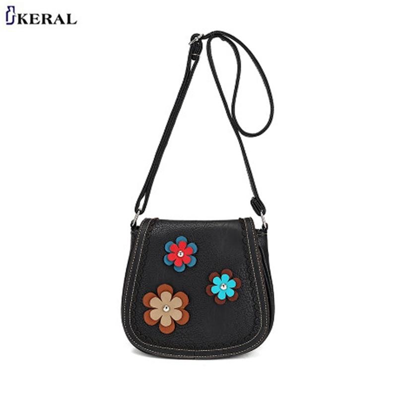 Hot Fashion Shoulder Bag for Women Ladies Floral Brife Retro Stylish Messenger Bag Casual bolsa feminina