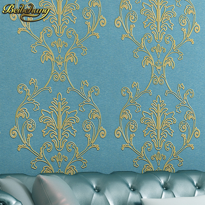 beibehang embroidery 3d flooring Wallpaper for living room wallpaper roll papier peint sofa tv backgroumd wall papers home decor modern 3d diamond geometry wallpaper living room tv sofa background wall papers for walls 3 d home decor luxury wallpaper roll