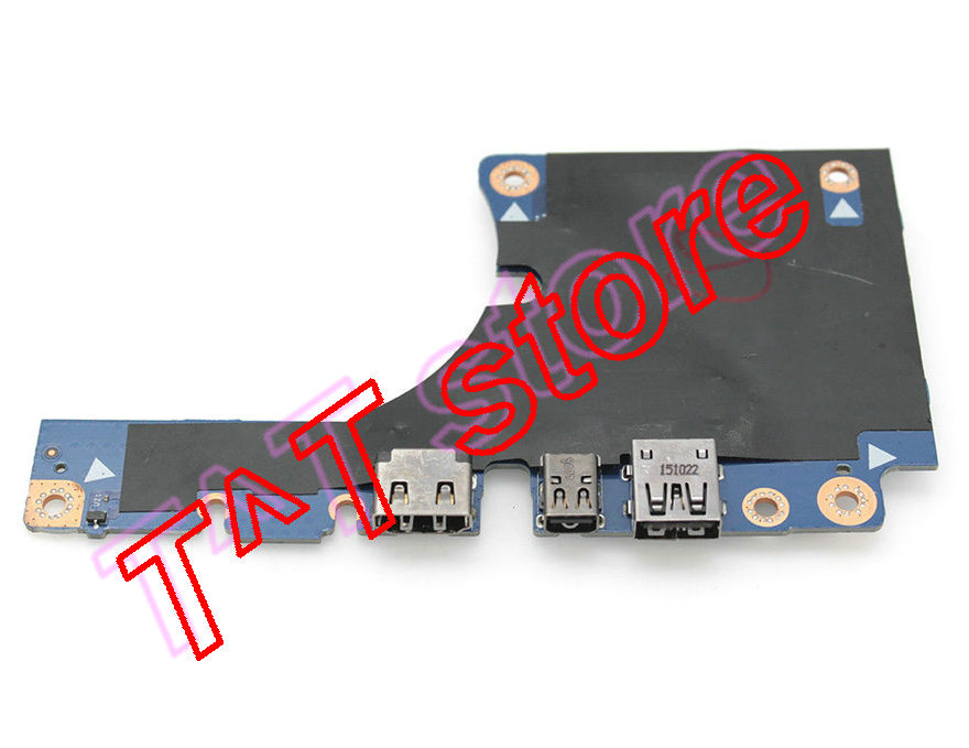 original for Precision 7710 USB Mini DP HDMI BOARD LS-C552P test good free shipping original for vostro 5568 power botton usb vga card reader board ls d821p test good free shipping