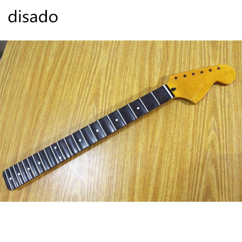 Disado 21/22 frettes grosse poupée guitare électrique cou palissandre touche guitare accessoires pièces instruments de musique