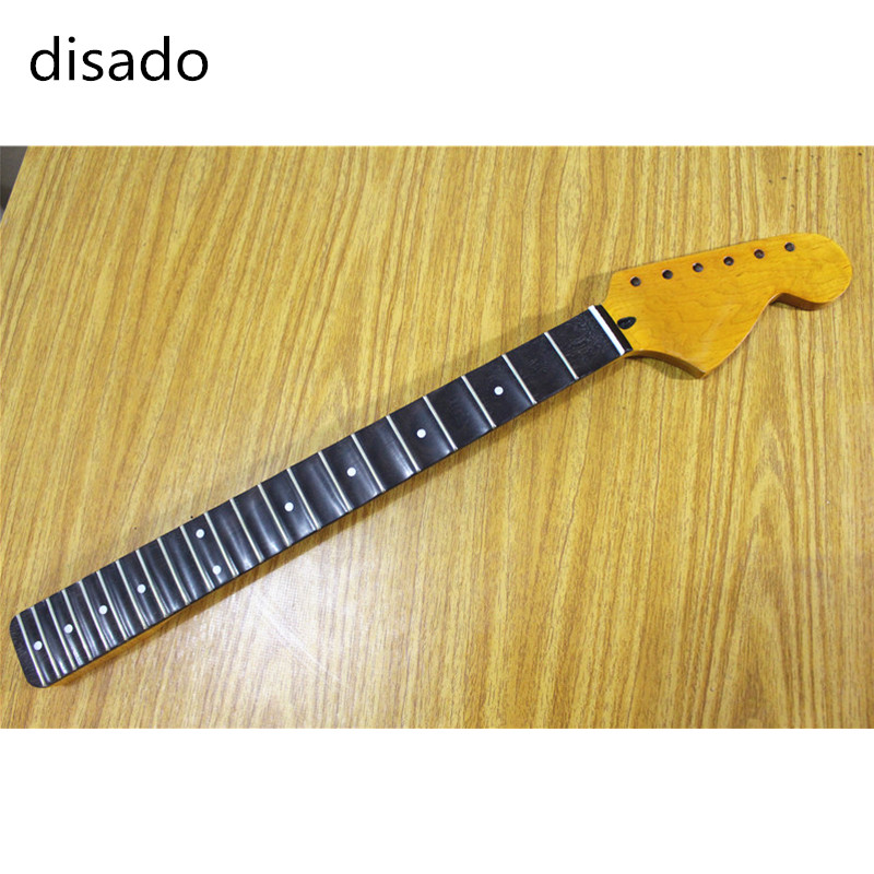 In Quality Disado 21/22 Frets Big Headstock Electric Guitar Neck Rosewood Fingerboard Guitar Accessories Parts Musical Instruments Excellent