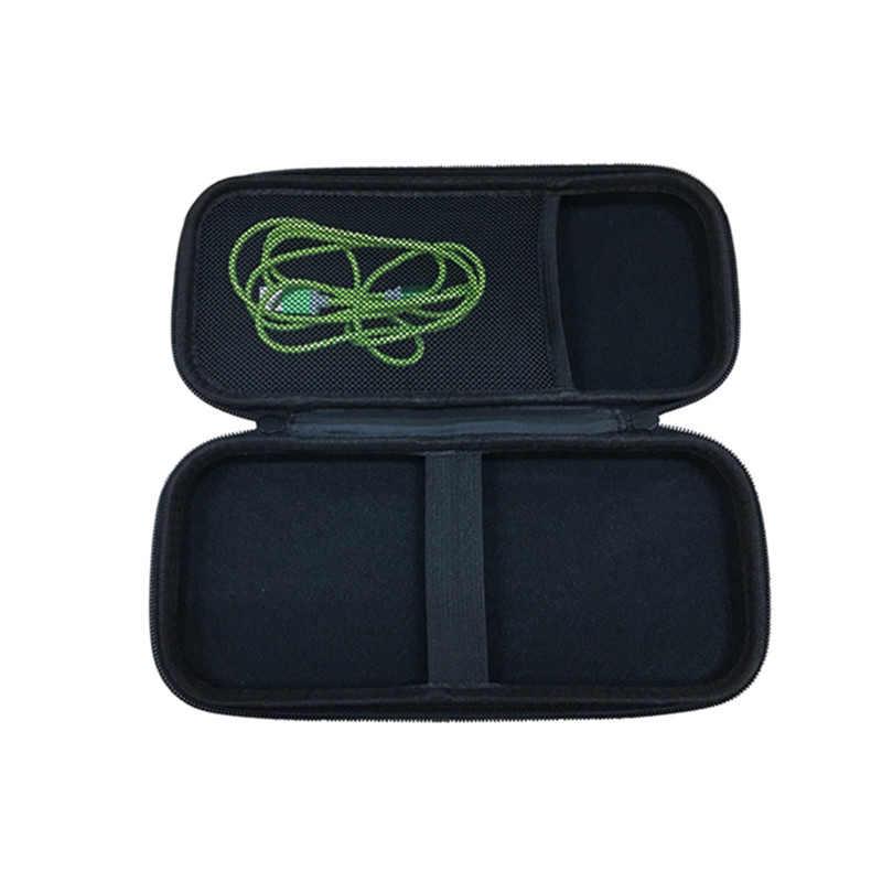 Portátil Com Zíper Saco De Armazenamento Bolsa de EVA Rígido Carry Case para 3 M Littman/Vive Precisão Estetoscópio Transporte da gota