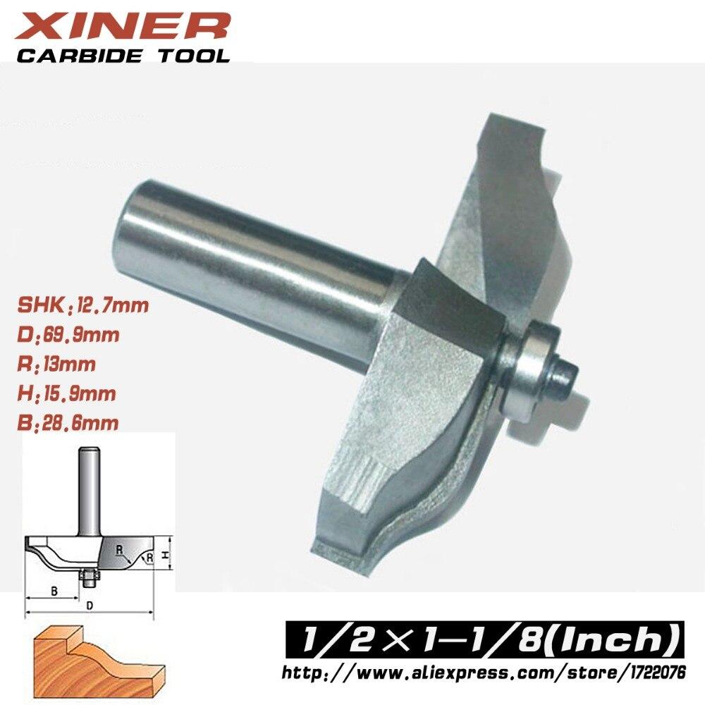ФОТО 1/2*1-1/8,Freeshipping, classical plunge bit CNC wood door cutter wood working bitthin round bottom door cutter,wood tool