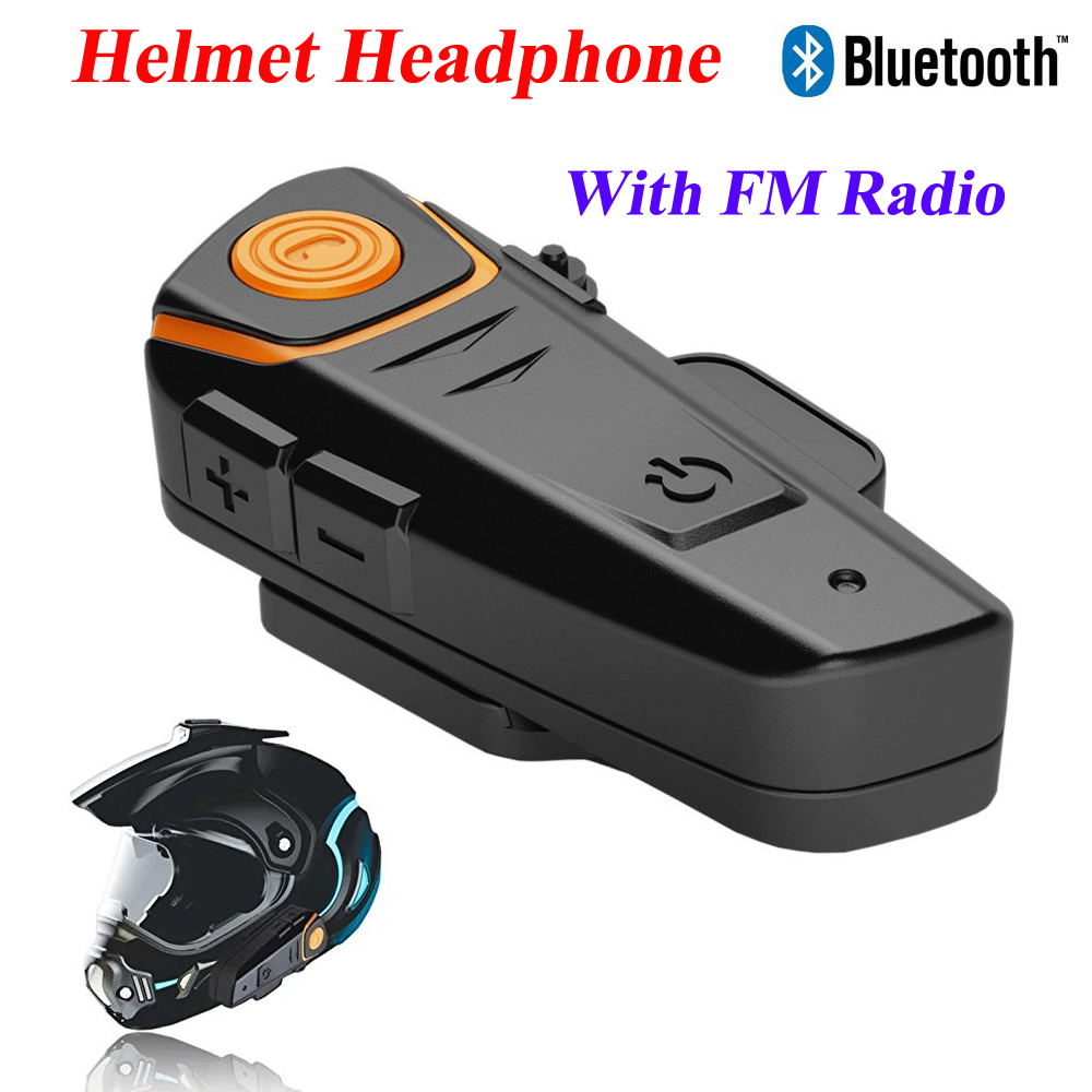 BT S2 1000m Motorcycle Helmet Bluetooth Headset Intercom Wired and ...