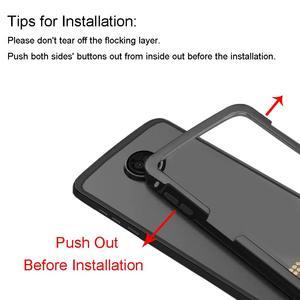 Image 4 - Moto z3 play case, lenovo 원래 알루미늄 금속 범퍼 anti scratch shockproof m 용 moto mods 보호 케이스와 호환 가능