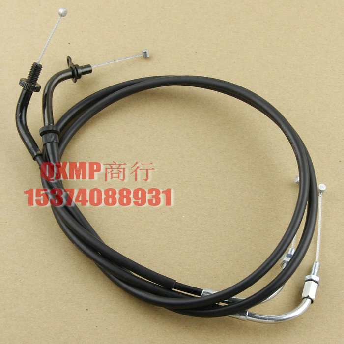 Motorcycle Cable throttle Line For Yamaha XV500 XV535 VIRAGO 535 Free Shipping