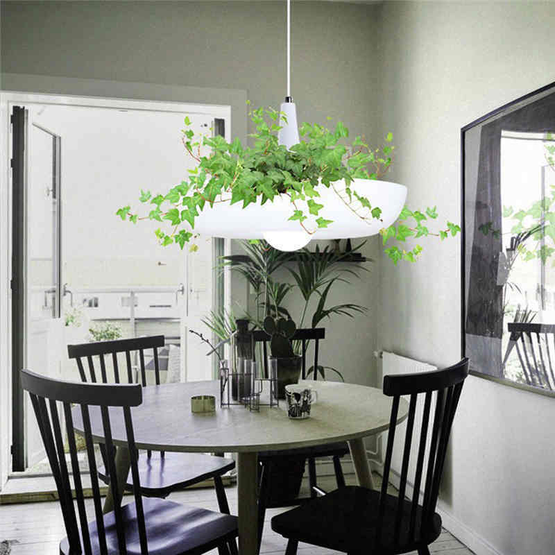 Led hängenden gärten von babylon pflanzen lampe töpfe eingetopft ...