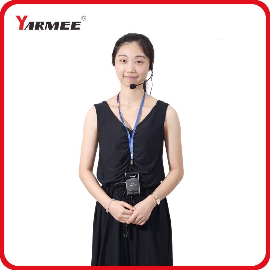 Yarmee наиболее популярные Беспроводной гид аудио Системы с большого расстояния передачи для церкви посещение Приём с 60 приемники