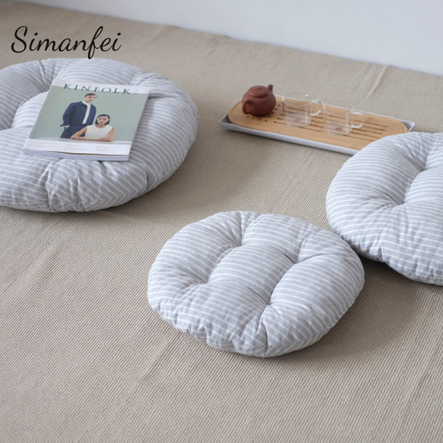 Simanfei Seat Cushion 2017 New Cotton Linen Throw Pillows Floor Pouf ...