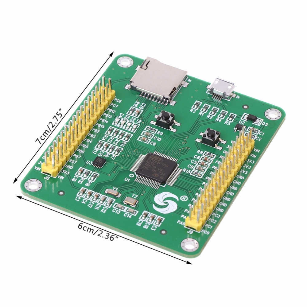 STM32 STM32F405RGT6 STM32F405 USB IO Core MicroPython Development Breadboard Module Integrated Circuits