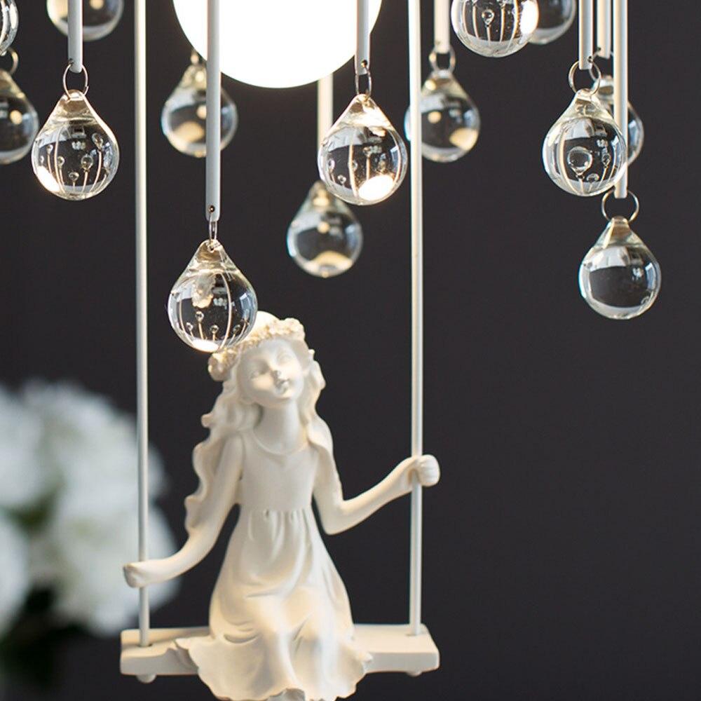 Online Shop HGHomeart Creative Cartoon Chandeliers LED Crystal ...