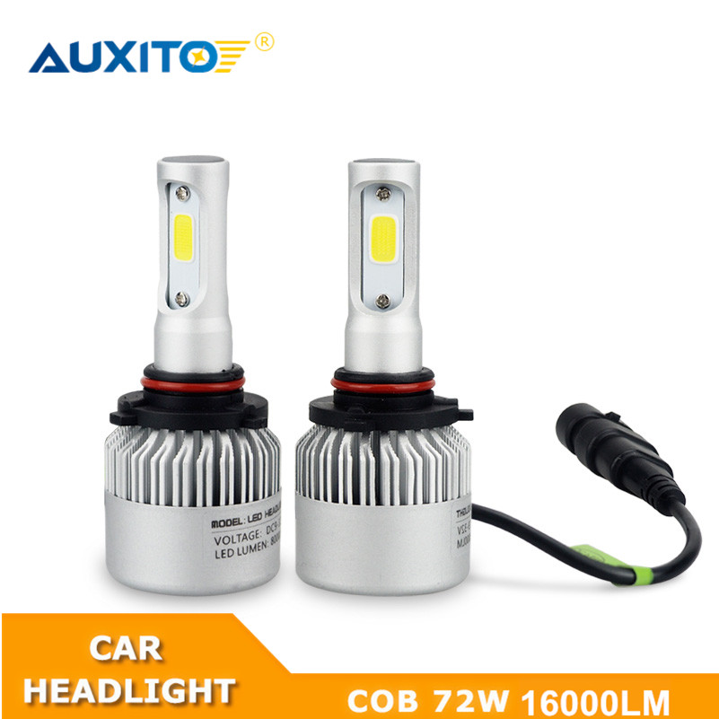2X For Toyota Corolla Avensis Yaris Rav4 Auris Hilux Prius Camry C-HR Ipsum 9005 9006 9003 H4 H11 H7 LED Headlight Bulb 16000LM kalaisike leather universal car seat covers for toyota all models rav4 wish land cruiser vitz mark auris prius camry corolla