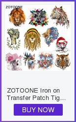 ZOTOONE Cute Cartoon Animal Patches Heat Transfer Iron on Patch for T-Shirt Children Gift DIY Clothes Stickers Heat Transfer G