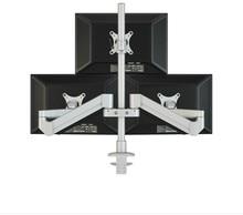 Desktop Triple Monitor Holder Support Aluminum Full Motion Triple Monitor Arm Loading 16kgs with 70cm Stand Pole M2037 casio triple sensor